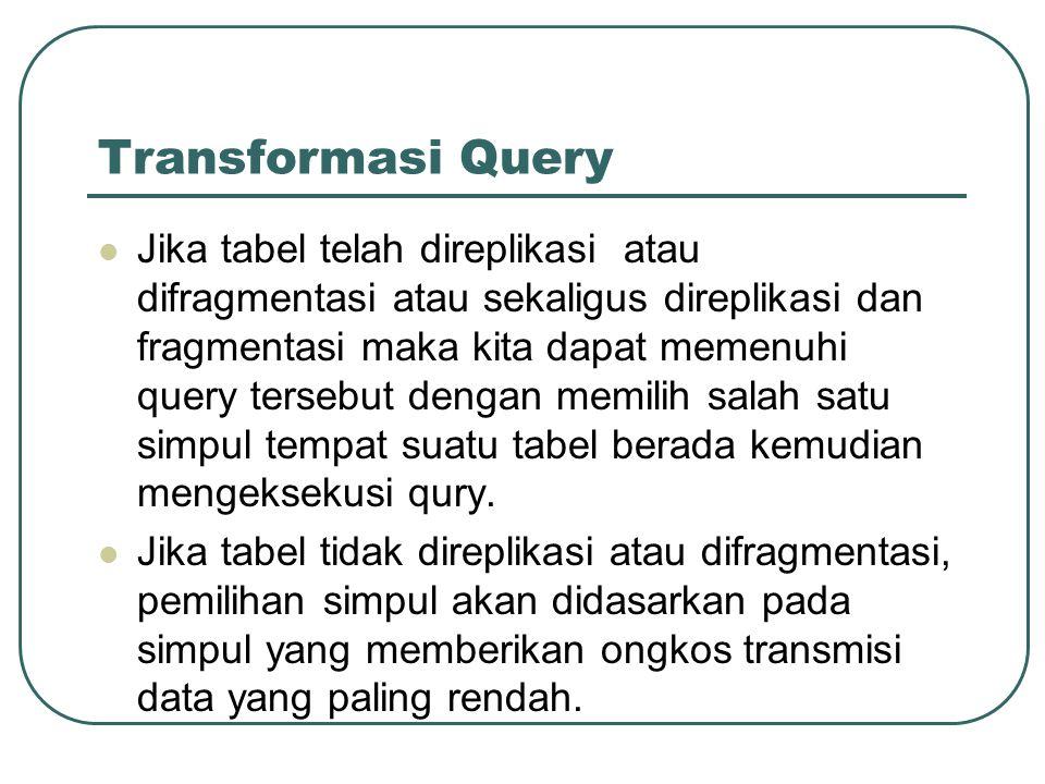 Transformasi Query