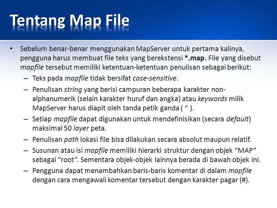 Tentang Map File