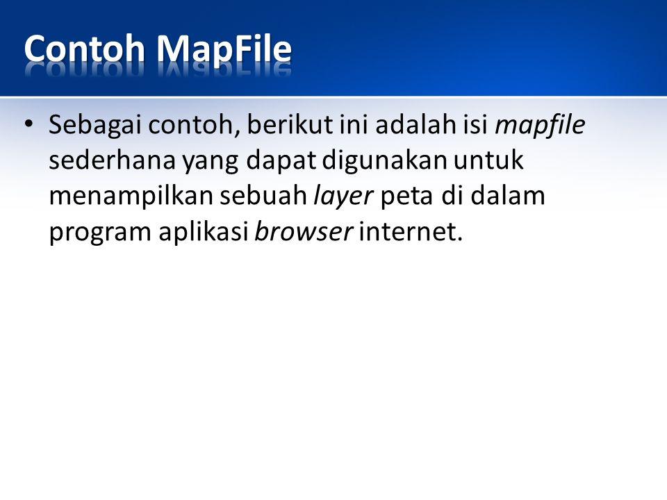 Contoh MapFile