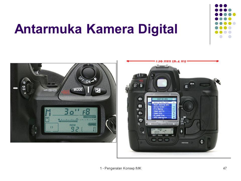Antarmuka Kamera Digital