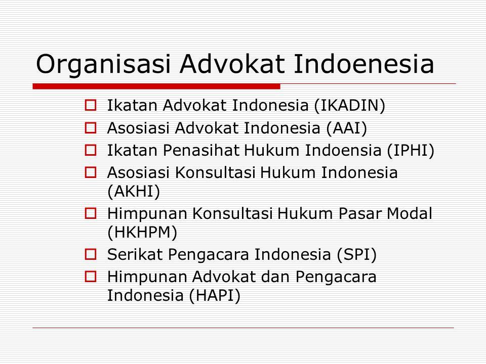 Organisasi Advokat Indoenesia