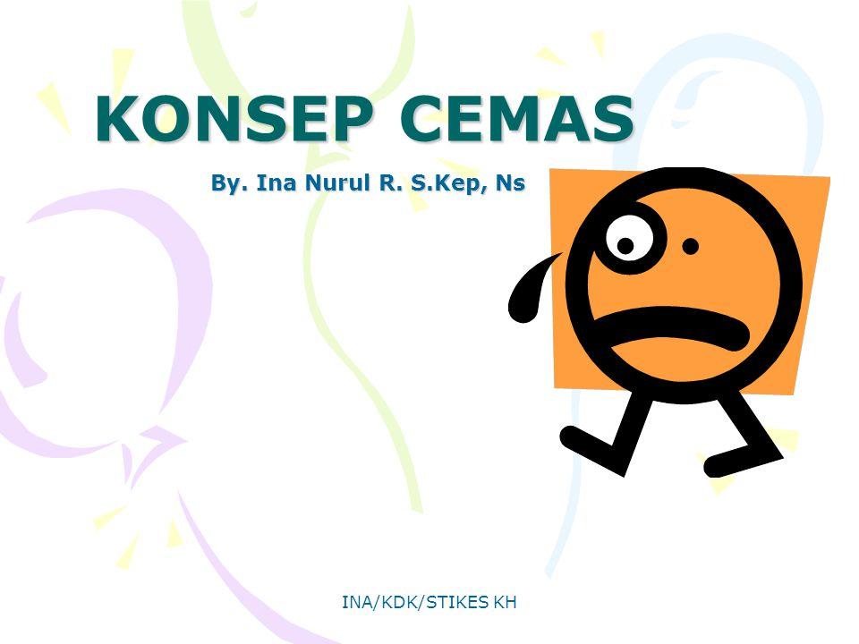 KONSEP CEMAS By. Ina Nurul R. S.Kep, Ns INA/KDK/STIKES KH