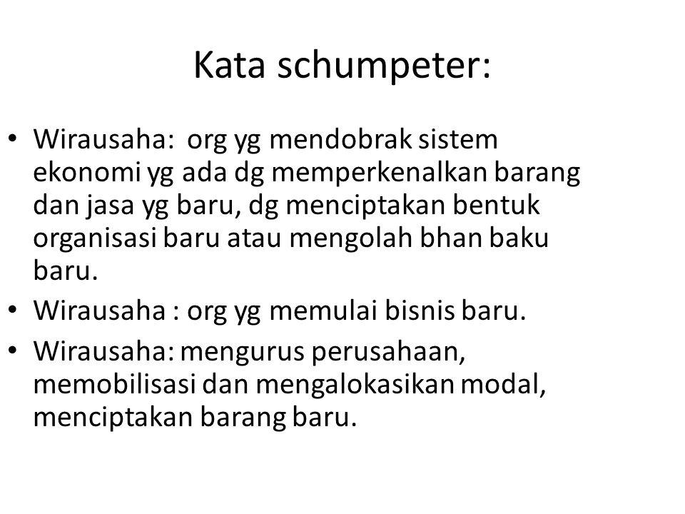 Kata schumpeter: