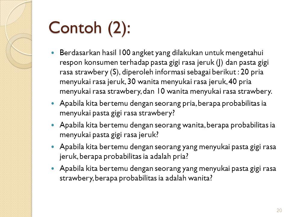 Contoh (2):