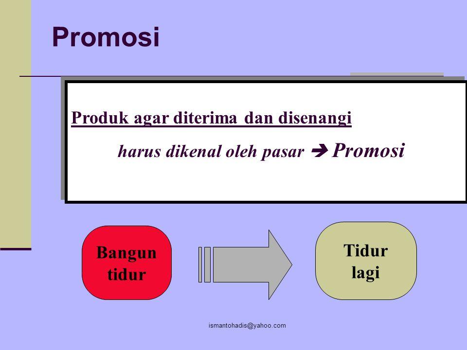 Promosi Produk agar diterima dan disenangi