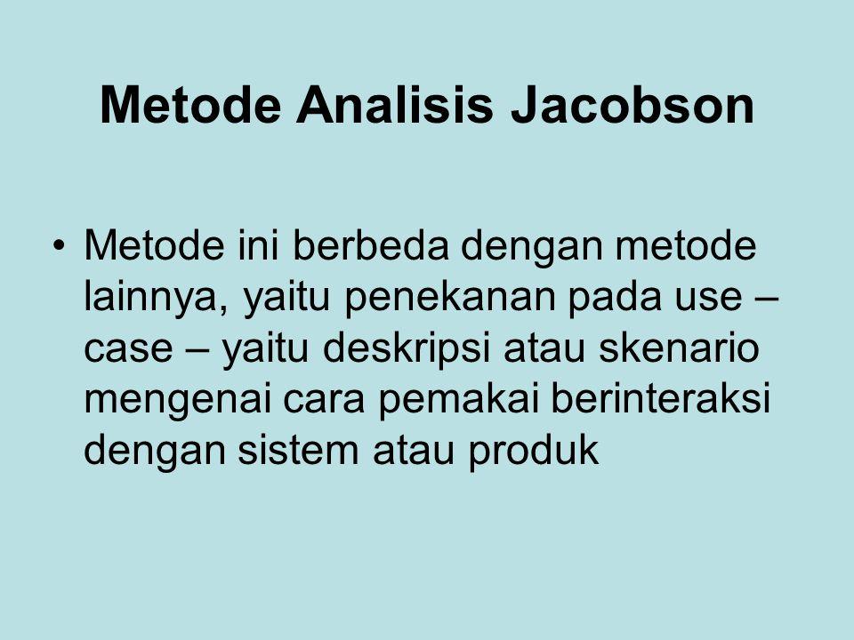 Metode Analisis Jacobson
