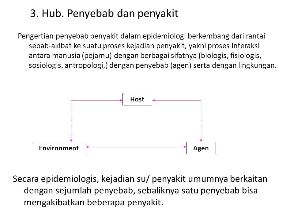 3. Hub. Penyebab dan penyakit