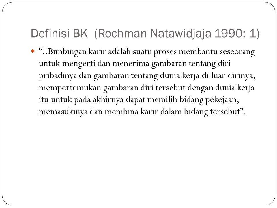 Definisi BK (Rochman Natawidjaja 1990: 1)