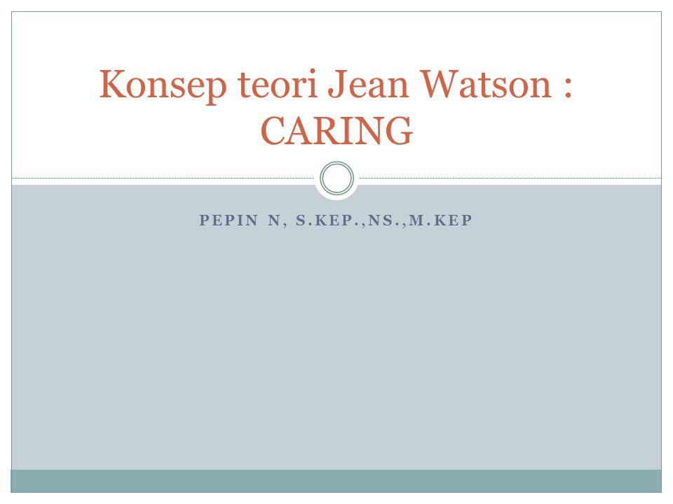 Konsep teori Jean Watson : CARING