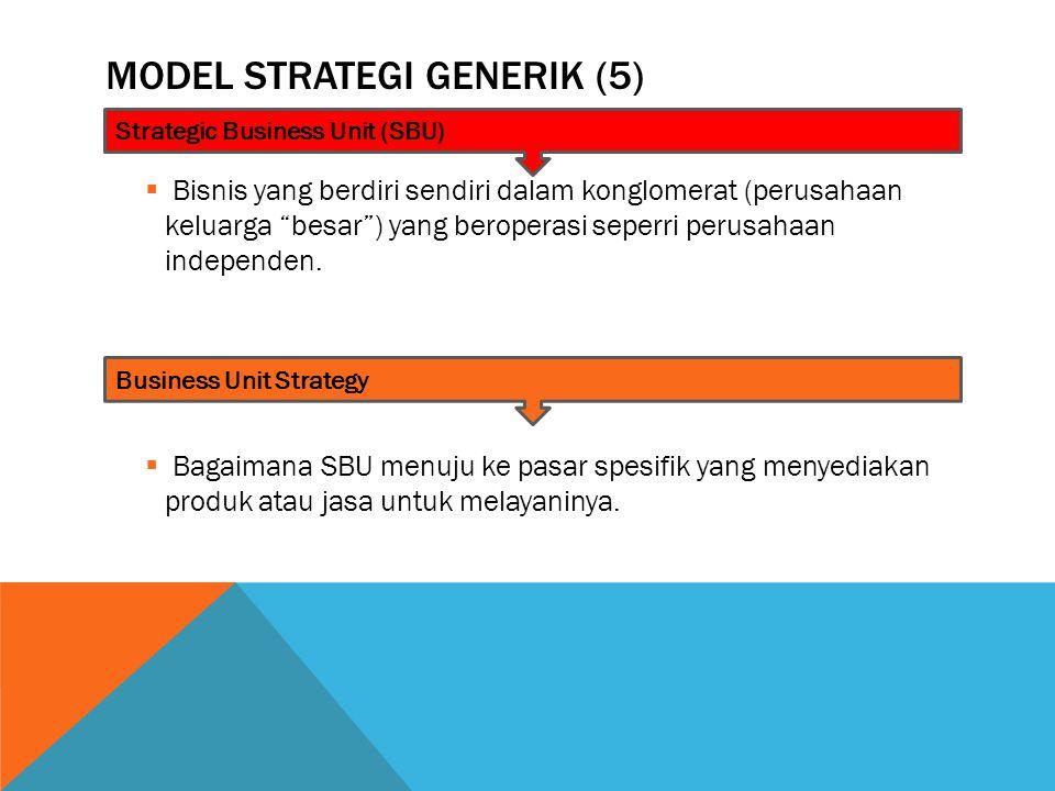 Model Strategi Generik (5)
