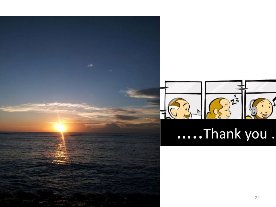 …..Thank you …