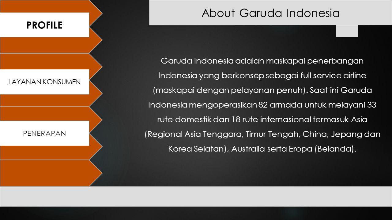 About Garuda Indonesia