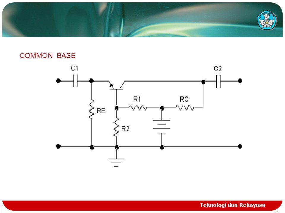 COMMON BASE Teknologi dan Rekayasa