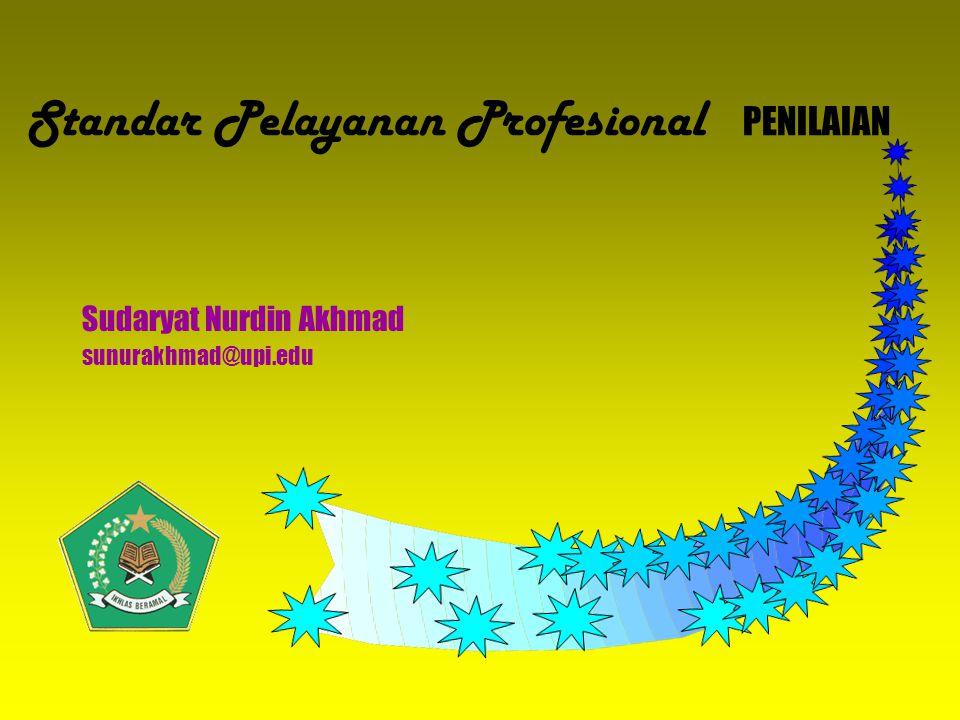 Standar Pelayanan Profesional PENILAIAN