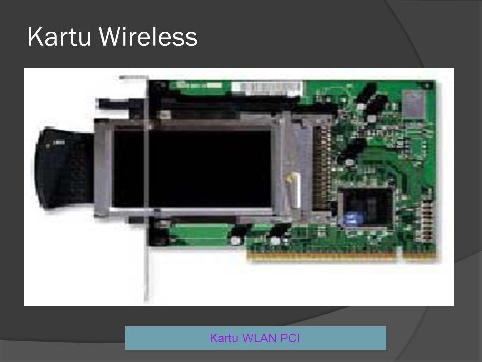 Kartu Wireless Kartu WLAN PCI