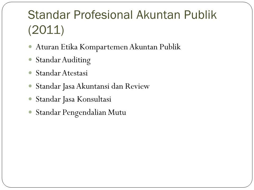 Standar Profesional Akuntan Publik (2011)