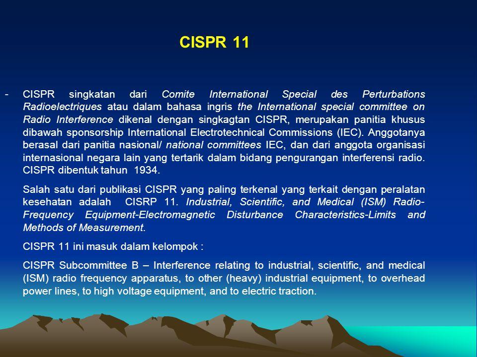 CISPR 11