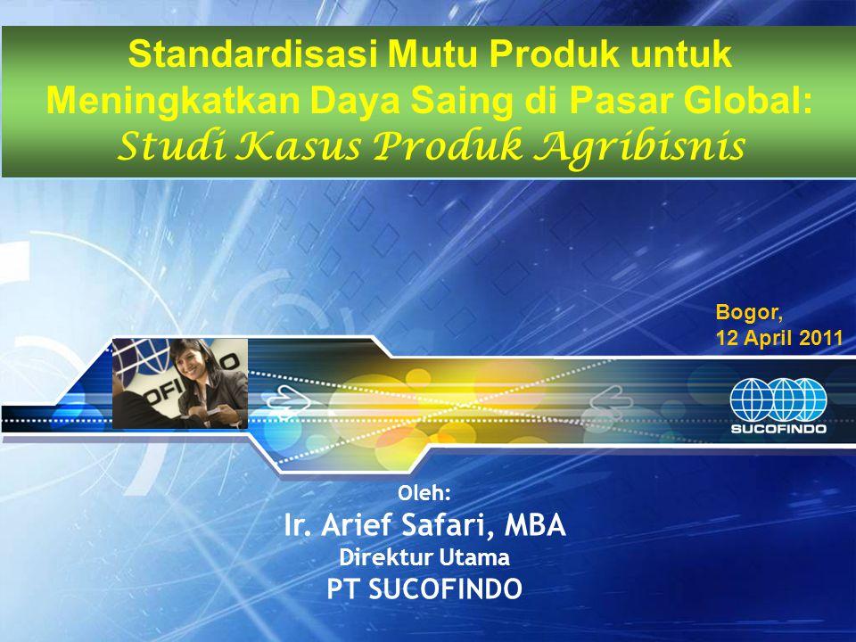 Studi Kasus Produk Agribisnis
