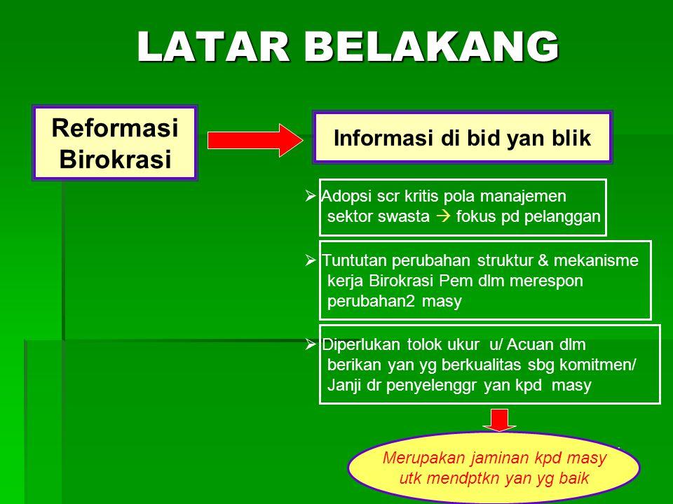 Informasi di bid yan blik