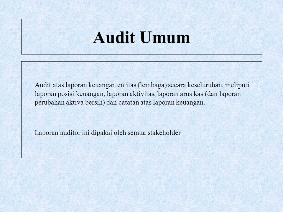 Audit Umum