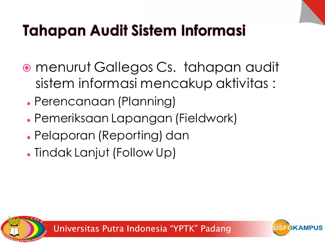 Tahapan Audit Sistem Informasi