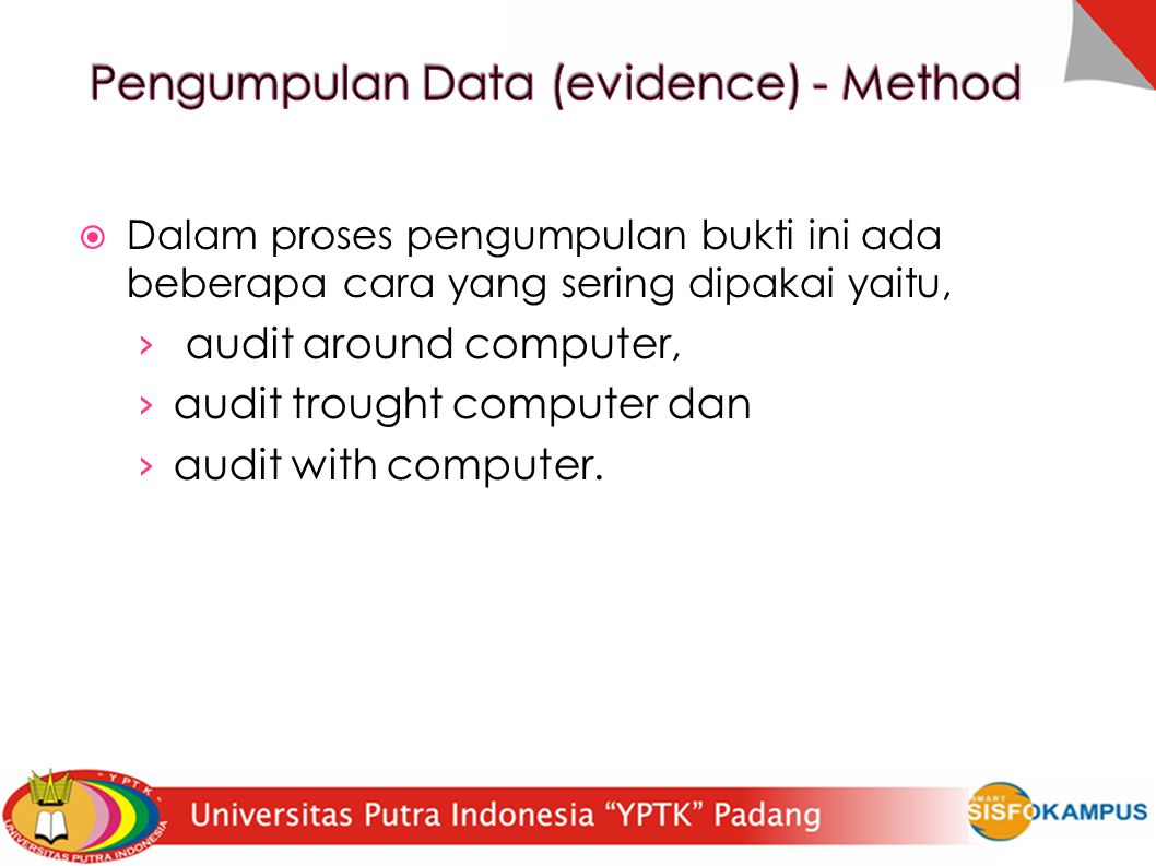 Pengumpulan Data (evidence) - Method