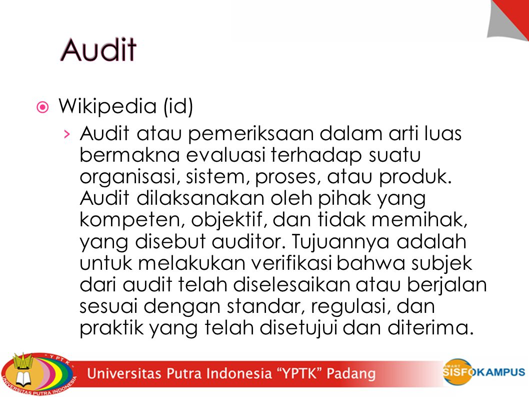 Audit Wikipedia (id)‏