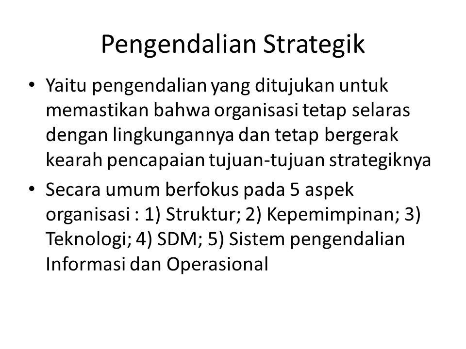 Pengendalian Strategik