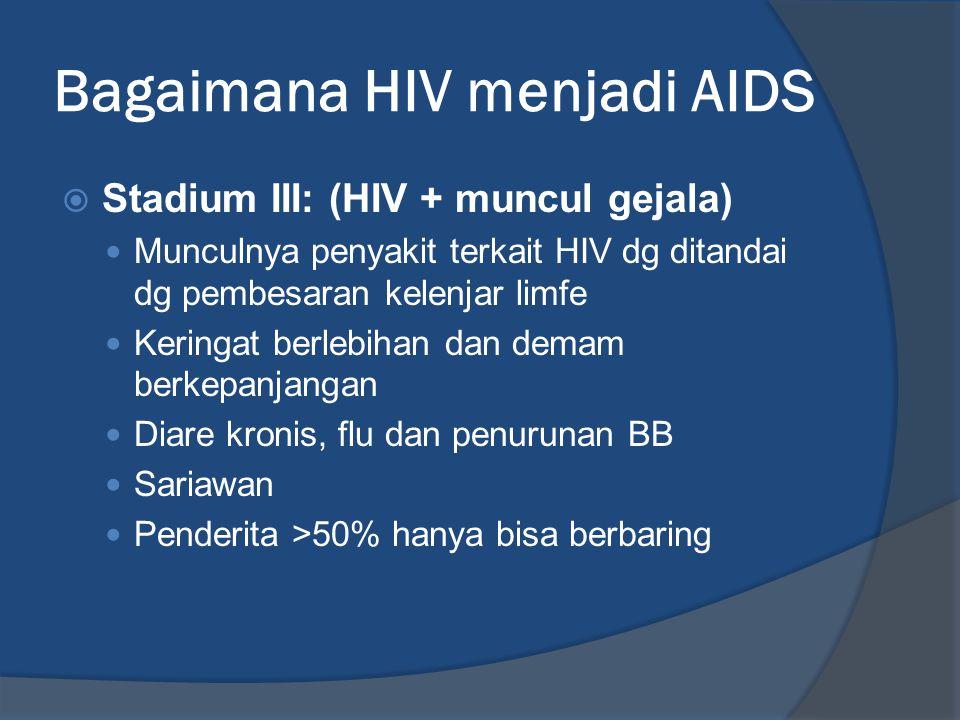 Bagaimana HIV menjadi AIDS