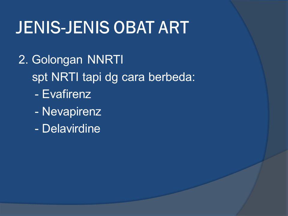 JENIS-JENIS OBAT ART 2.