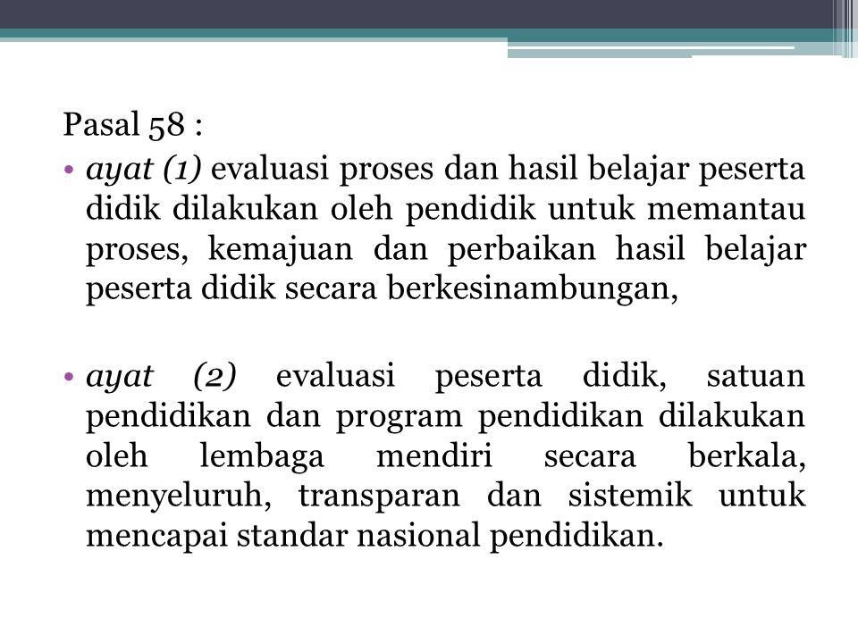Pasal 58 :