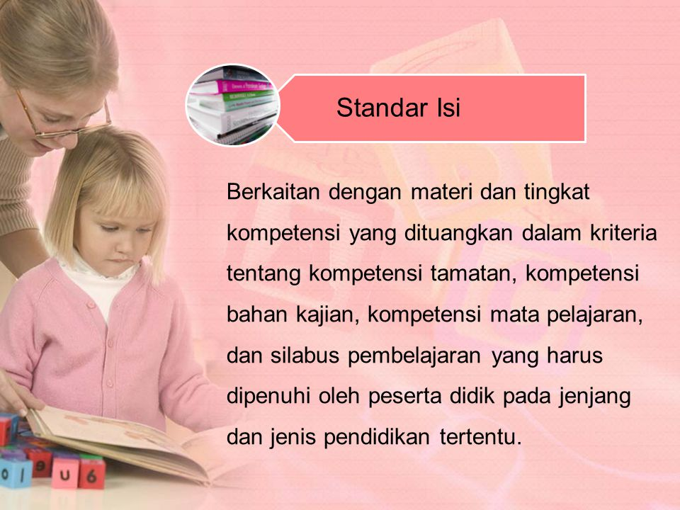 Standar Isi