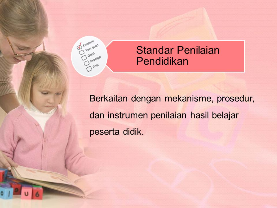 Standar Penilaian Pendidikan