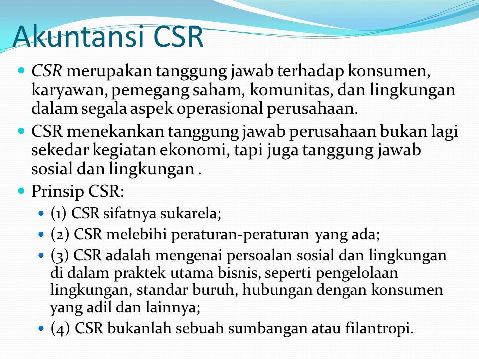 Akuntansi CSR