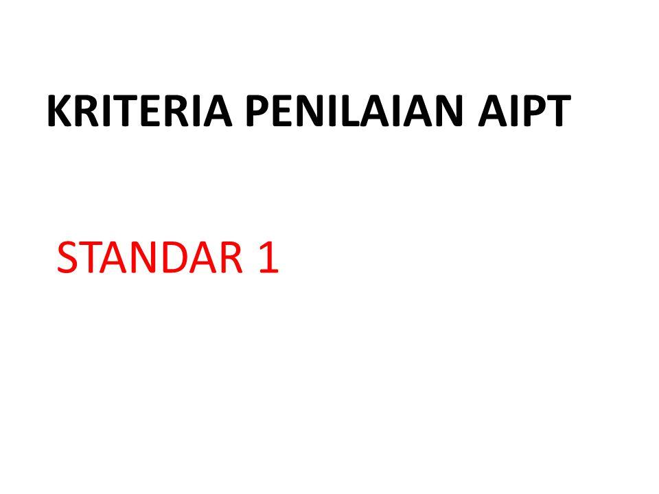 KRITERIA PENILAIAN AIPT