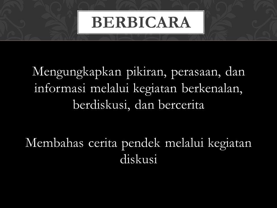 BERBICARA