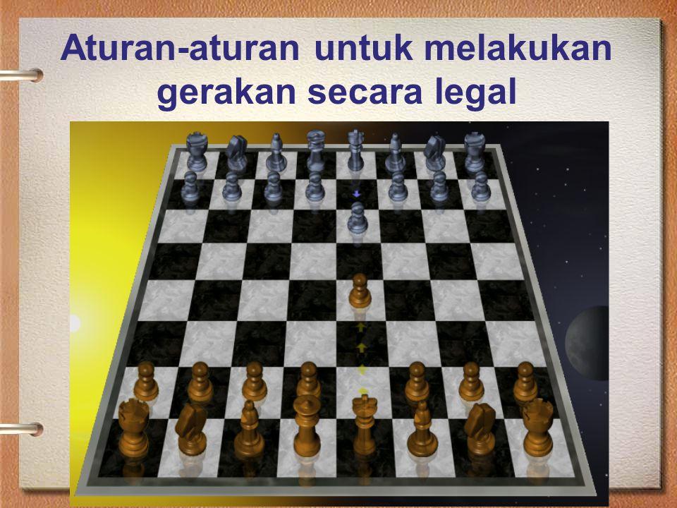 Aturan-aturan untuk melakukan gerakan secara legal