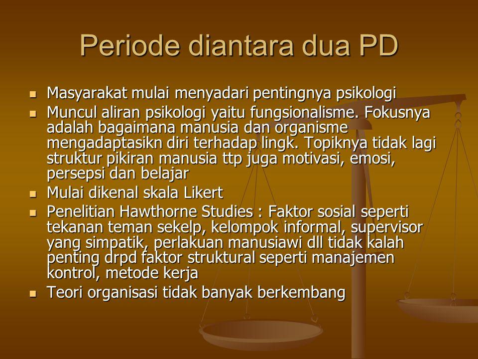Periode diantara dua PD