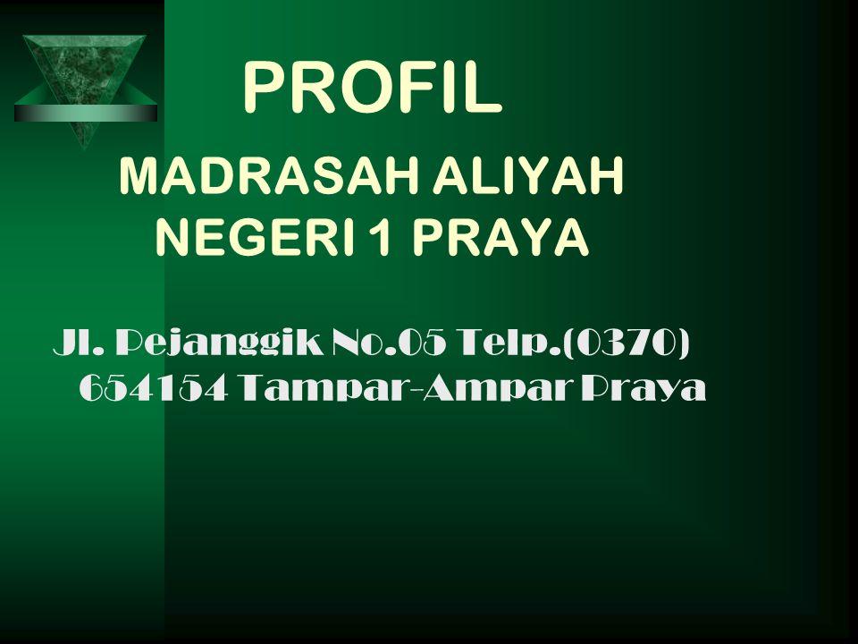 PROFIL MADRASAH ALIYAH NEGERI 1 PRAYA