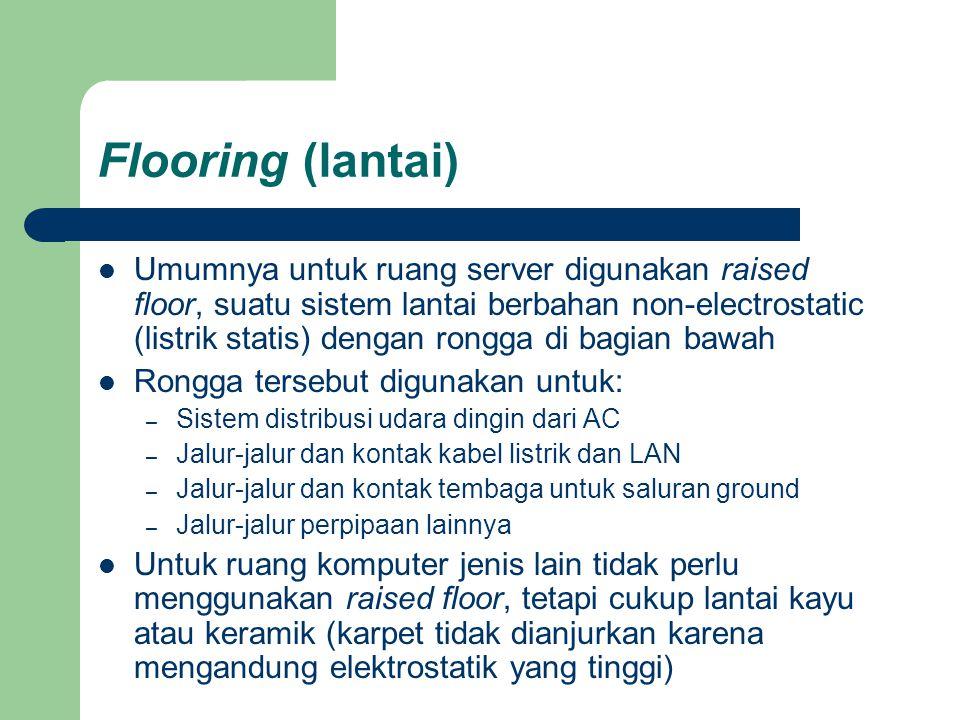 Flooring (lantai)