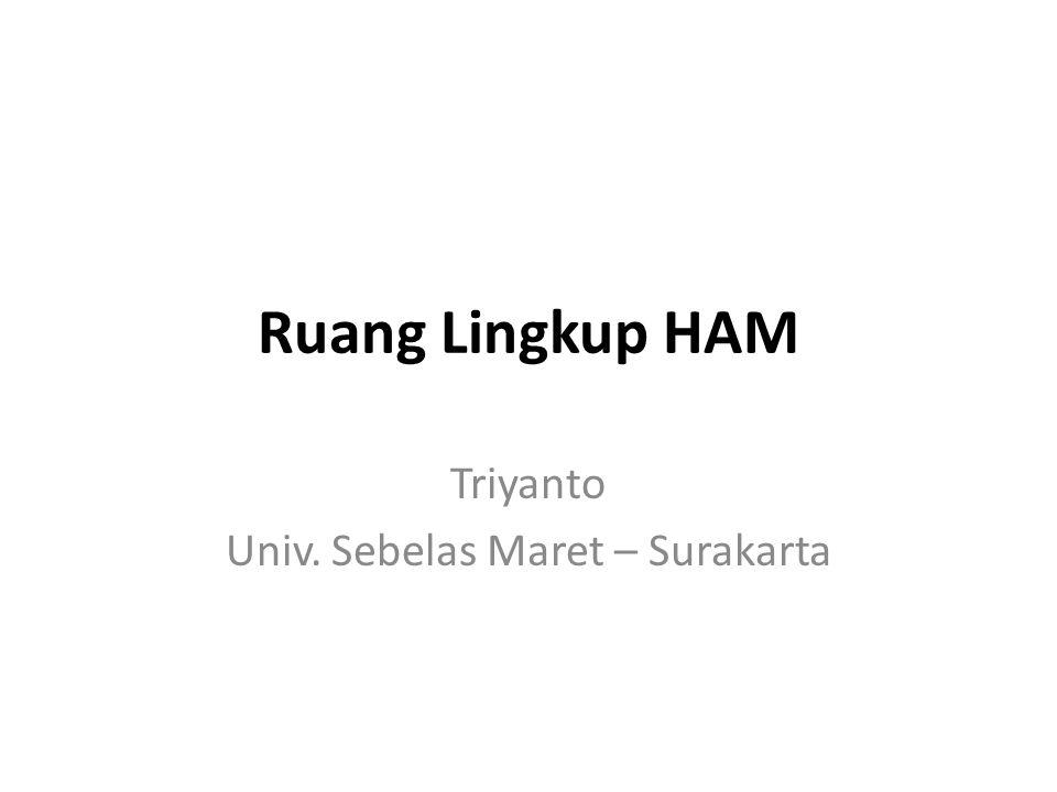 Triyanto Univ. Sebelas Maret – Surakarta