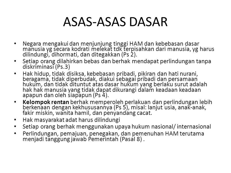 ASAS-ASAS DASAR