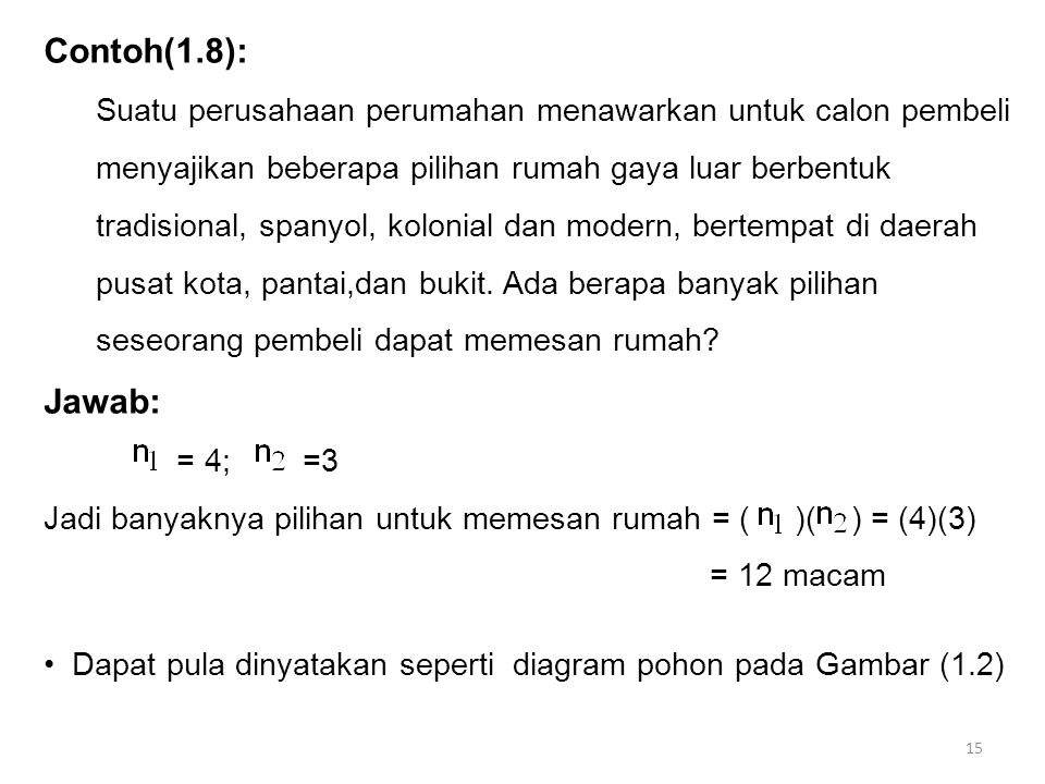 Contoh(1.8):