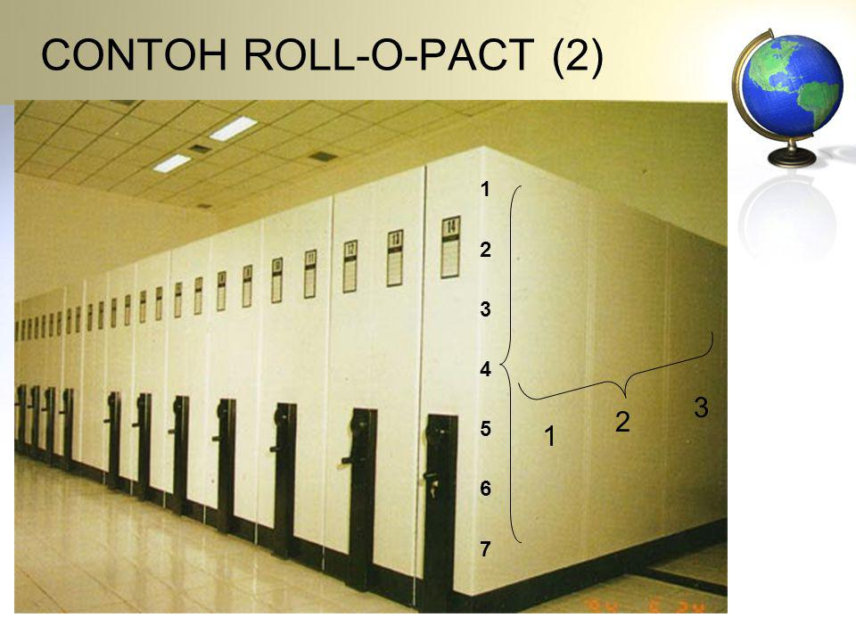 CONTOH ROLL-O-PACT (2) 1 2 3 4 5 6 7 3 2 1