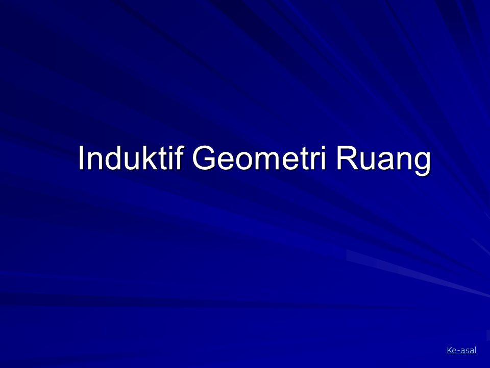 Induktif Geometri Ruang