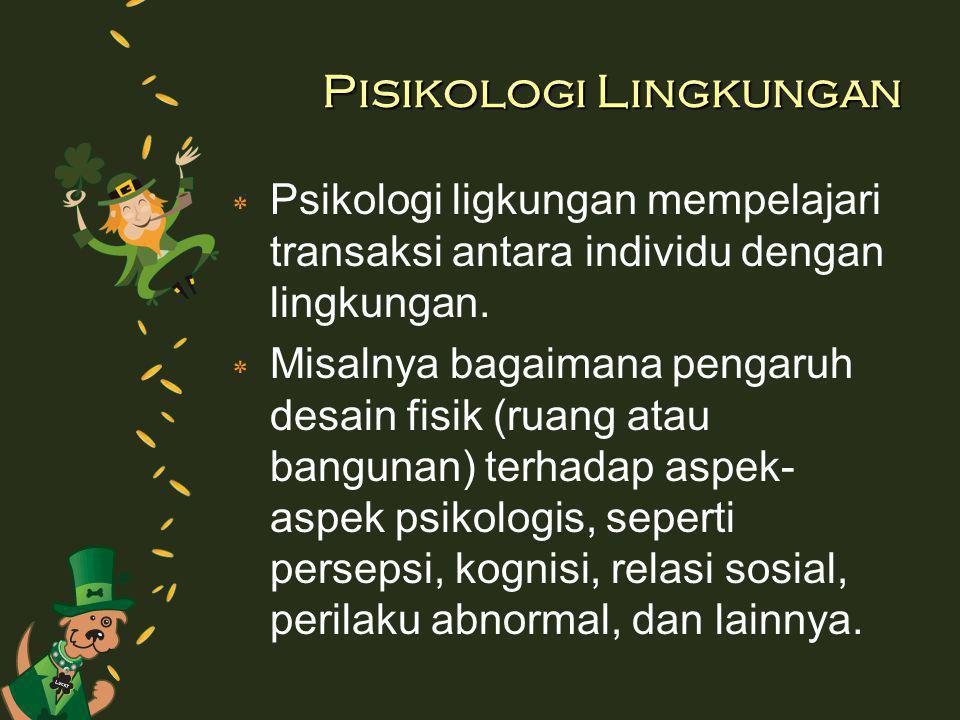 Pisikologi Lingkungan
