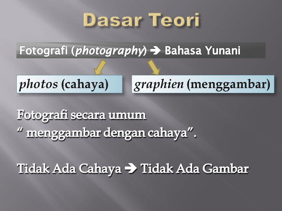 Dasar Teori photos (cahaya) graphien (menggambar)