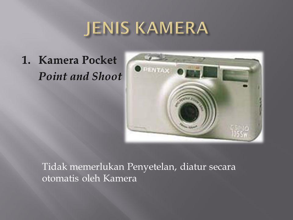 JENIS KAMERA Kamera Pocket Point and Shoot