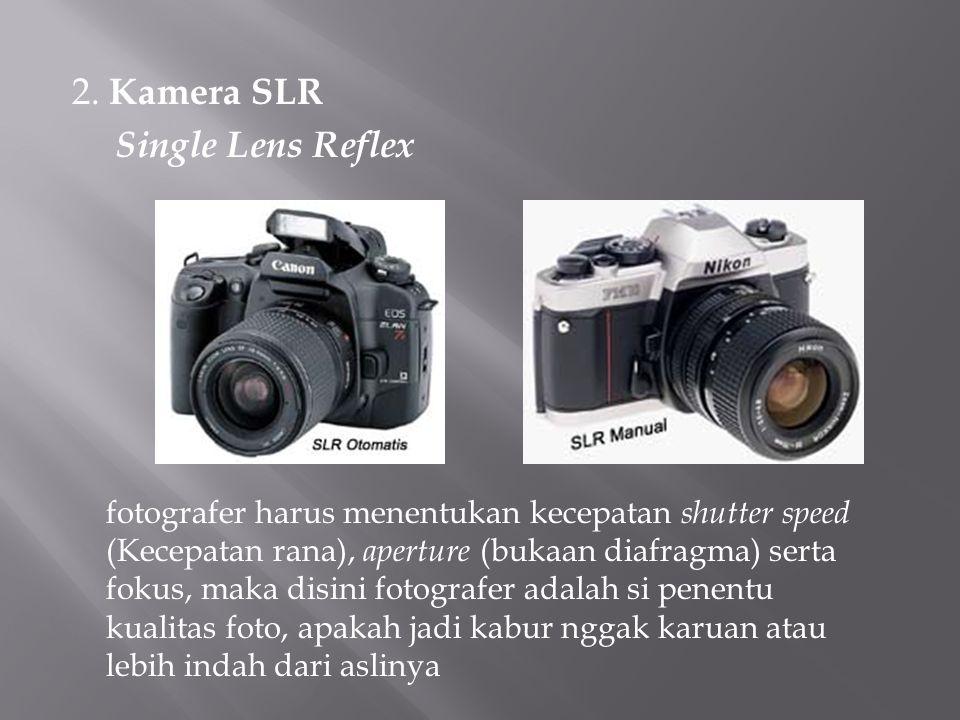 2. Kamera SLR Single Lens Reflex