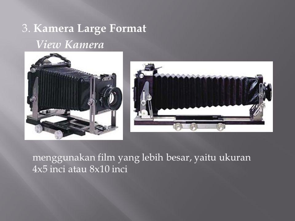 3. Kamera Large Format View Kamera